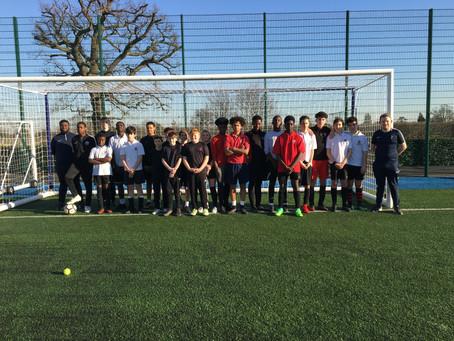 Sports Leaders at Tottenham FC
