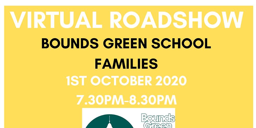 Broomfield Roadshow - Bounds Green School