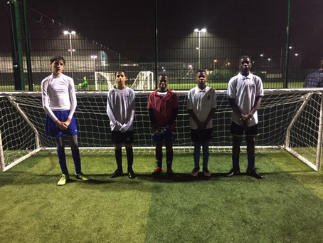 Year 9 5 a side football tournament
