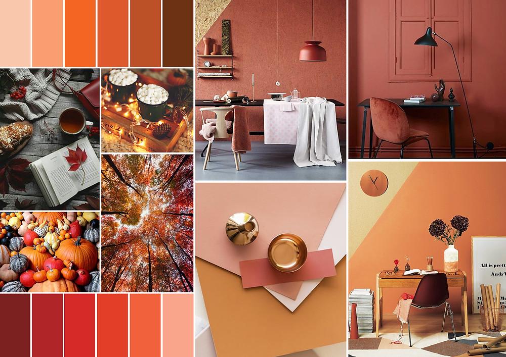 Autumnal Interiors Mood Board