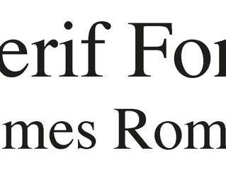 Font Basics