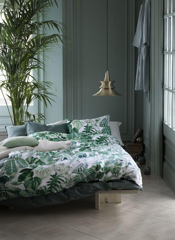 Green bedroom inspiration