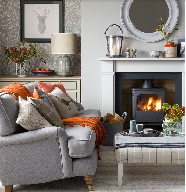 Autumnal Living Room