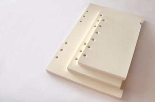 6-ring binder notebook refills