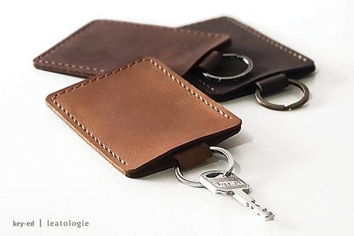 Key-ed • Key Holder With Access Card Holder