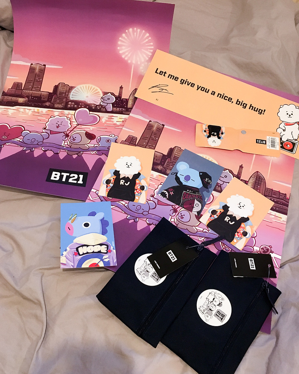 Where To Buy Bt21 And Bts Merchandise In London