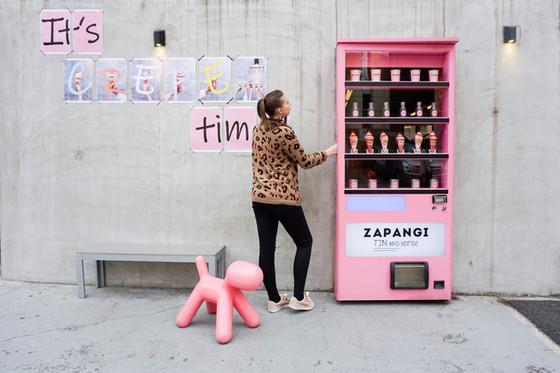 Vending Machine Cafe Zapangi (자판기) Seoul