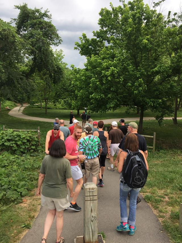 Second Walk!  June 10th 2016