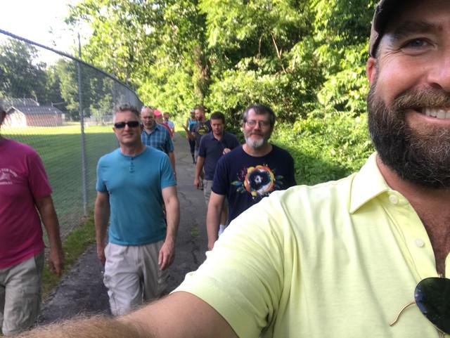 Walk It Out! Mondays on UNCA campus!