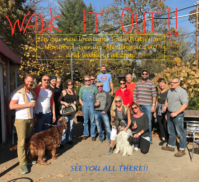 """We are """"Walking It Out"""" all winter long!!  NEW LOCATION AND TIME!"""