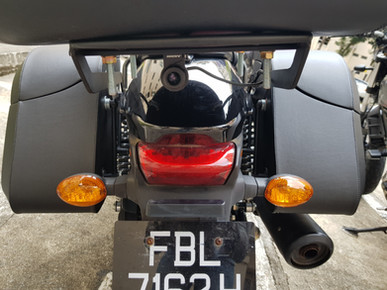 INNOVV K2 Motorcycle Camera System was Installed on Harley Davidson