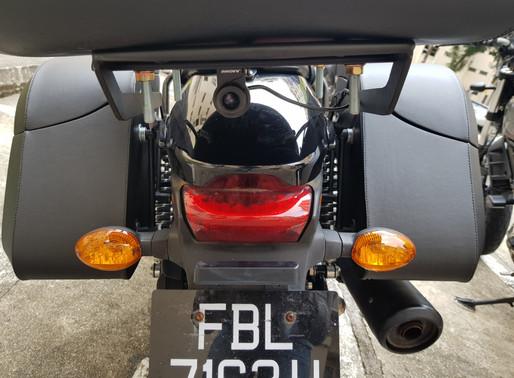INNOVV K2 Motorcycle Camera System was Installed on Harley Davidson