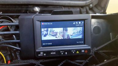 INNOVV K1 motorcycle camera system installation on 2008 Goldwing