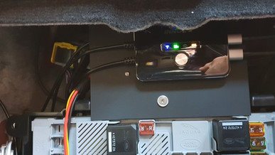 INNOVV K2 Motorcycle Camera System Was Installed on the Car