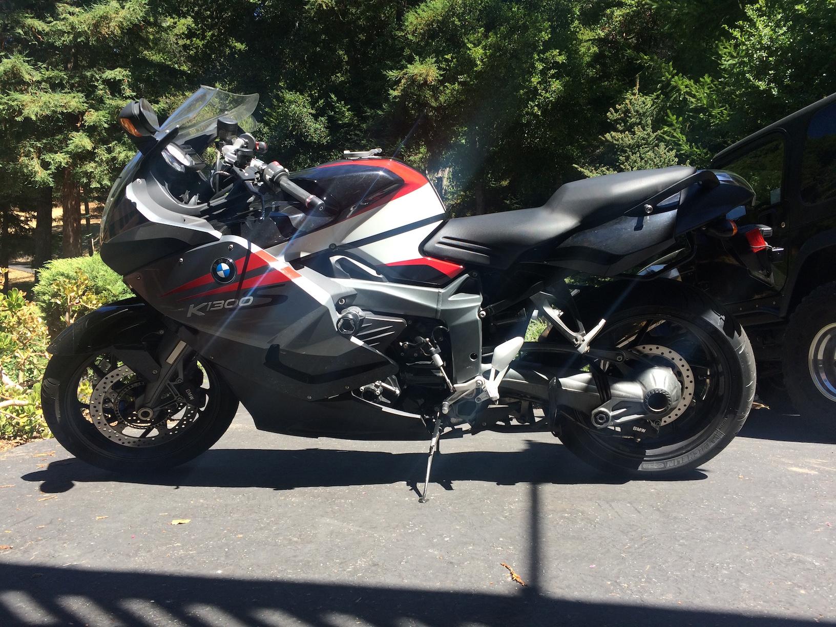 Motorcycle Black Box Installed On Bmw K1300s Motorcycle Camera