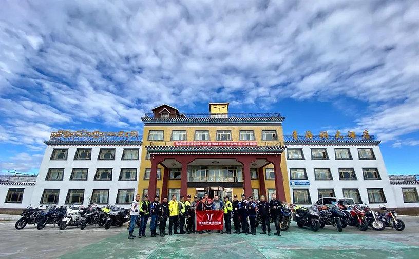 Motorcycle Trip Around Qinghai Lake