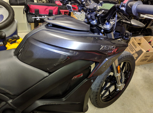 INNOVV K2 Motorcycle System on ZERO DSR