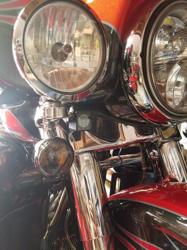 INNOVV K1 Traffic Camera installed on Harley Davidson CVO Ultra