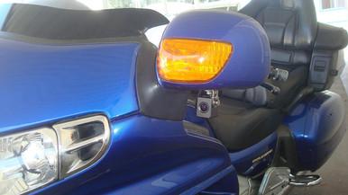 INNOVV K1 motorcycle camera installed on Honda Goldwing 1800cc 2001