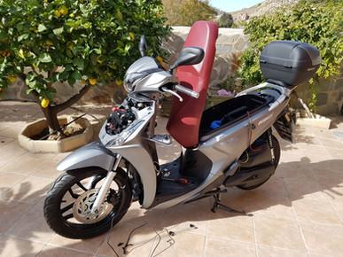 INNOVV K2 Motorcycle Camera System On Scooter