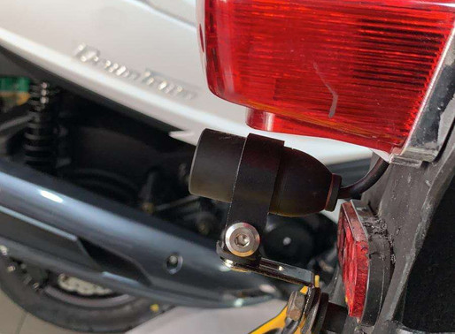 INNOVV K2 Motorcycle Camera Install on Zero Electric Motorcycle
