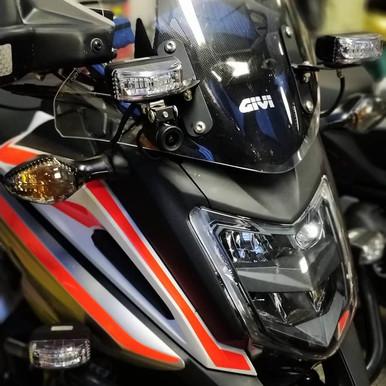 INNOVV K2 on HONDA nc750x (Hungarian Rescue Motor Foundation)
