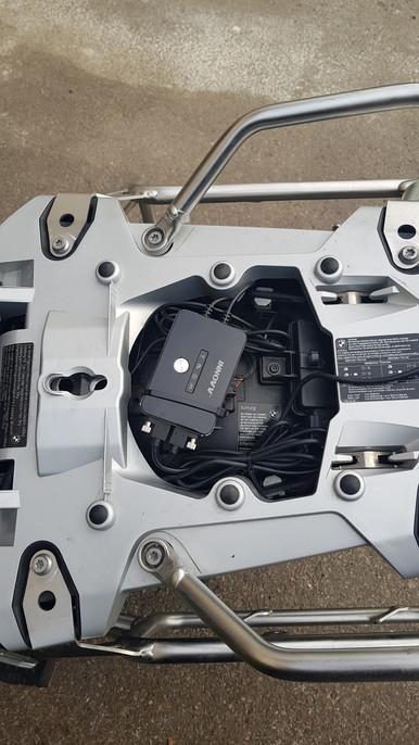 INNOVV K2 Motorcycle Camera Installed on BMW GS 1200 Adventure