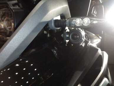 INNOVV C5 Motorcycle Camera installed on BMW R1200GS