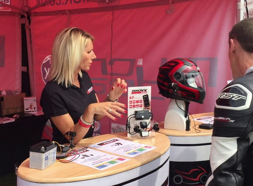 INNOVV UK. MCN Motorcycle Festival – May 2019
