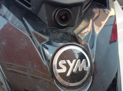 INNOVV C5 Motorcycle Camera Install on SYM300