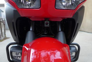 INNOVV K1 Motorcycle Camera installed on Honda Gold Wing F6B