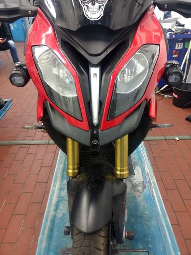 INNOVV C5 Motorcycle Camera System was installed BMWS1000XR
