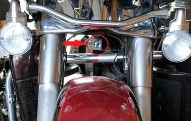 INNOVV K1 Mounted on a 2012 Harley-Davidson FLHTK Ultra Limited