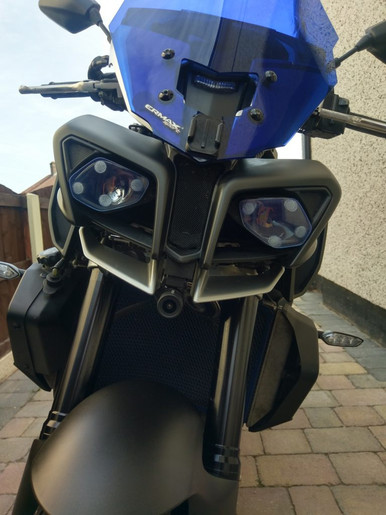 GREAT Install Photo's of INNOVV K2 Motorcycle Camera on Yamaha
