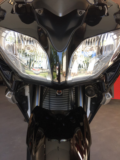 INNOVV K1 Motorcycle Camera System installed on Yamaha FJR1300