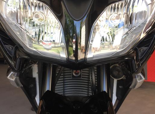 INNOVV K1 Motorcycle Camera System installed on Yamaha FJR1300