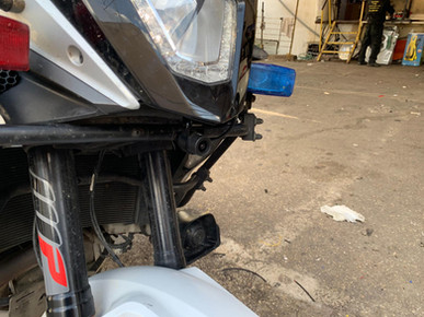 INNOVV K2 Motorcycle Camera System Installation-Israel Police Motorcycle