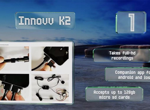 INNOVV K2 & C5 are recommended by Ezvid Wiki