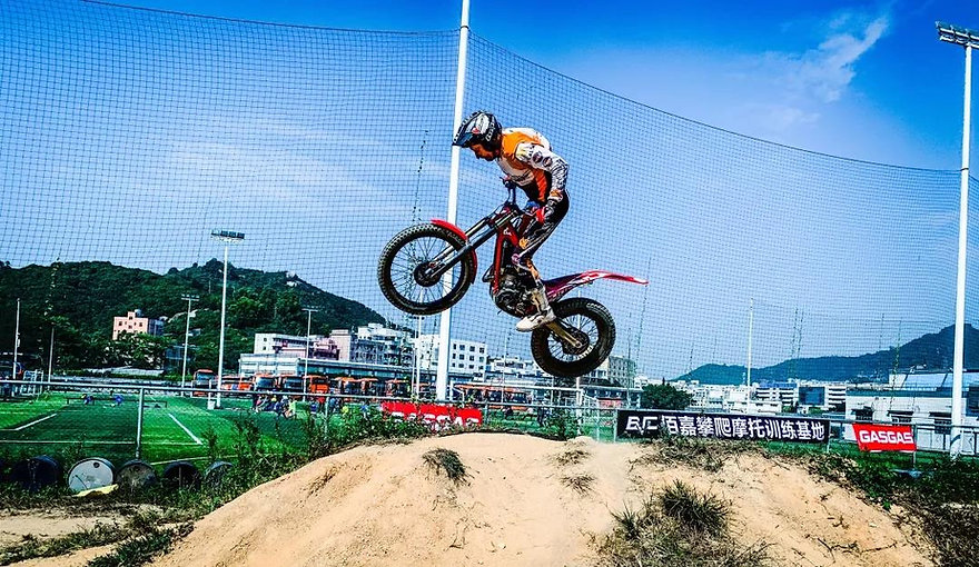 The exciting motocross - 2020 Fufeng cup 11