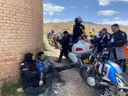 Motorcycle Trip Around Qinghai Lake 7
