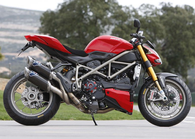 INNOVV K1 Motorcycle Dashcam Installed on Ducati Street Fighter S
