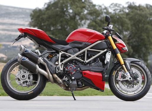 INNOVV K1 Motorcycle Dashcam Installed on Ducati Street Fighter S