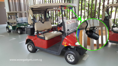 INNOVV C5 on Golf Cart