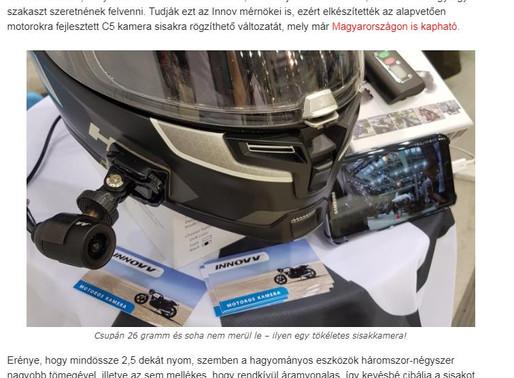 INNOVV C5 helmet camera review