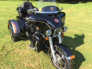 Harley Davidson Triglide with INNOVV K1 camera system