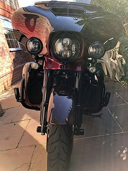 INNOVV K2 Motorcycle Camera System on Ha