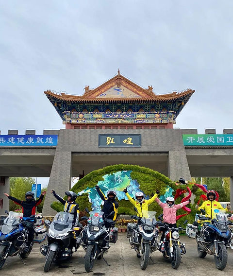 23 Days of Silk Road Motorcycle Trip over 8000km 6