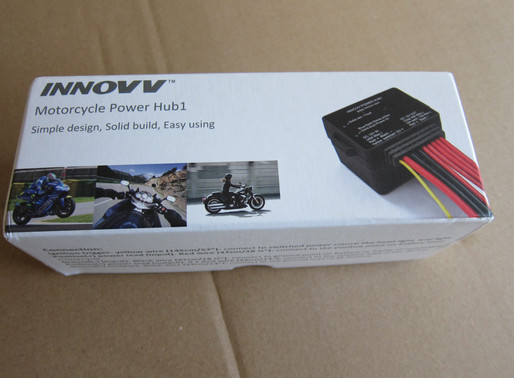 INNOVV Power Hub1 Install on BMW R1200 GS