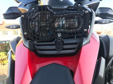 INNOVV K2 Motorcycle Camera System installed on 2016 GSA