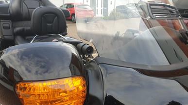 Innovv K2 installed on Honda Goldwing/Panther Trike